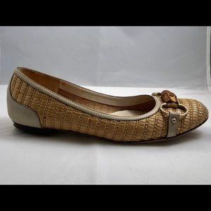 Authentic Gucci Bamboo Horsebit Ballet Flats